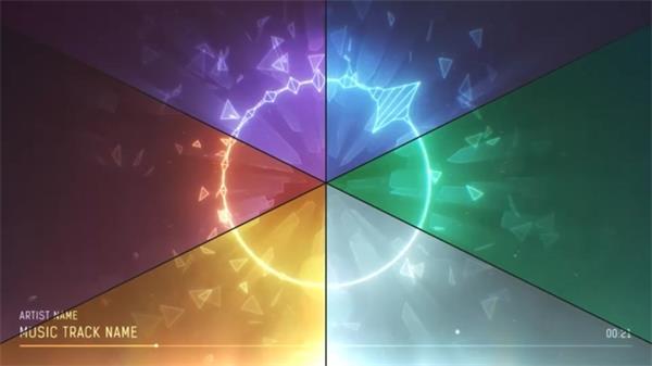 线性节奏模板动感教师波纹小学毕业讲话的音乐圆圈图片