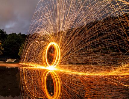 HOUDINI粒子制作飞溅火花教程