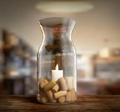 玻璃器皿第二季-透光的玻璃瓶