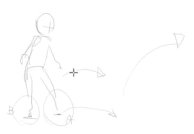 2D动画教程 二维动画人物运动学习