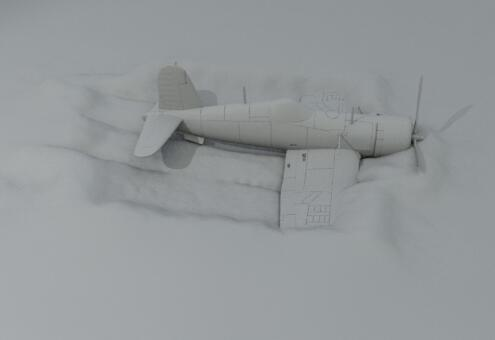 houdini16制作飞机撞击地面效果