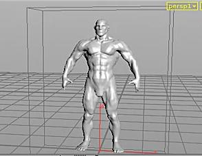 HOUDINI13-制作人物变形效果