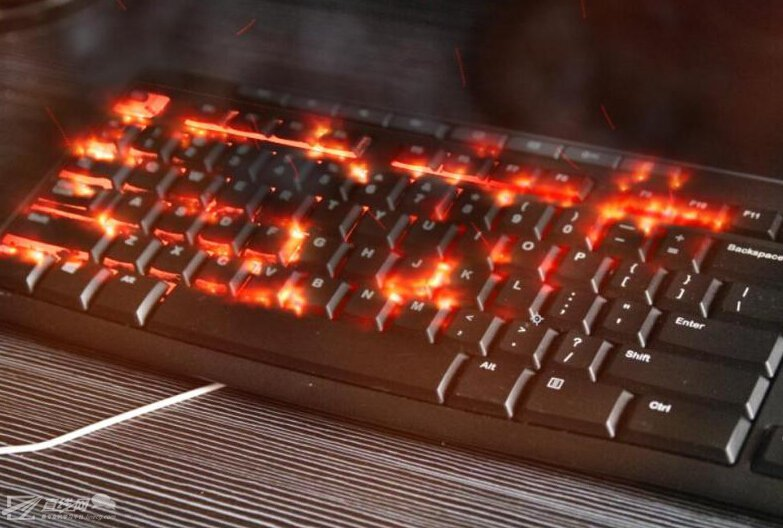 AE Particular制作火焰燃燒鍵盤