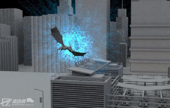 HOUDINI制作飞龙穿越效果