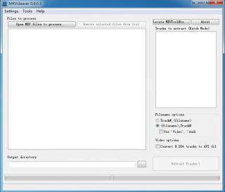 MKV拆封插件MKVcleaver_x64_v0603