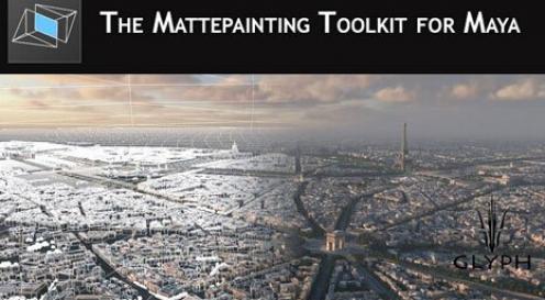 电影游戏建筑环境制作Maya插件V3.0版GS MattePainting Toolkit v3.0 Maya 2015 x64bit Win