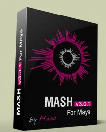 Maya节点控制器插件MASH V3.0.1版 Mainframe MASH v3.0.1 For Maya x64bit Win