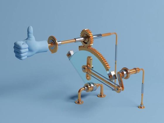 C4D动力学教程:做各种好玩的机械装置
