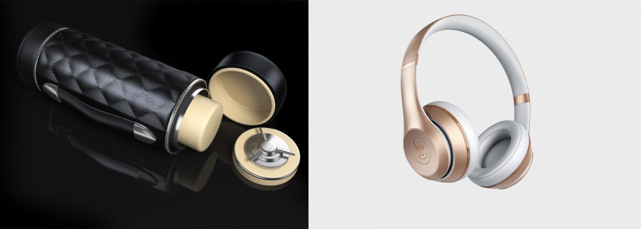 产品渲染一周一练之耳机表桶