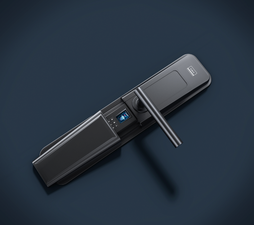 3Dmax+vray门锁产品渲染