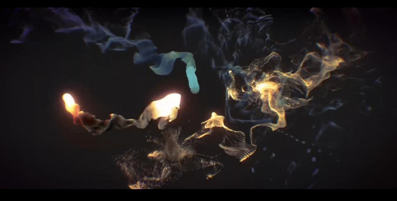 ae+particle 制作音乐粒子舞蹈