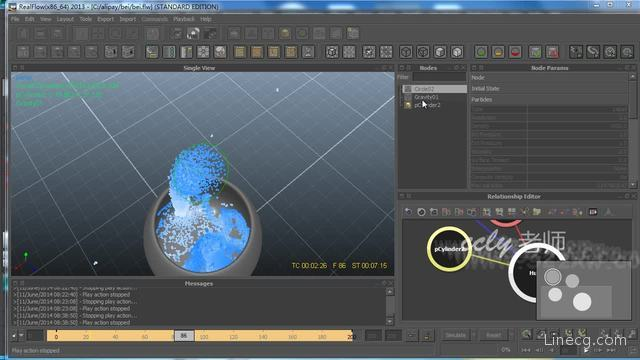 realflow renderkit 液体模拟小提示