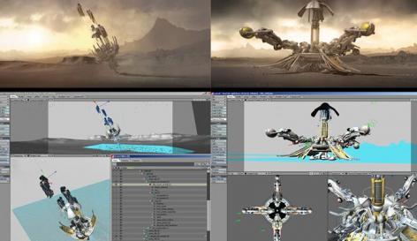 令人惊讶的科幻CG动画短片《起源》Abiogenesis (Short Film)