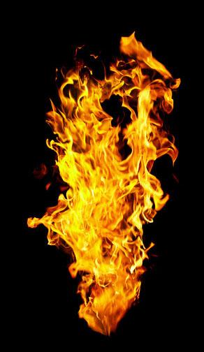 ps合成火焰燃烧的扑克牌酷炫特效教程