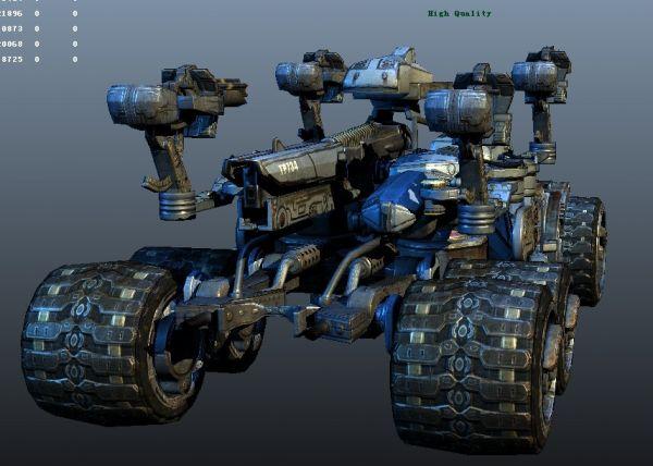 虚幻次时代机械模型-人物模型