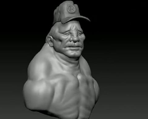 zbrush4.0 r2使用演示—怪物头部雕刻