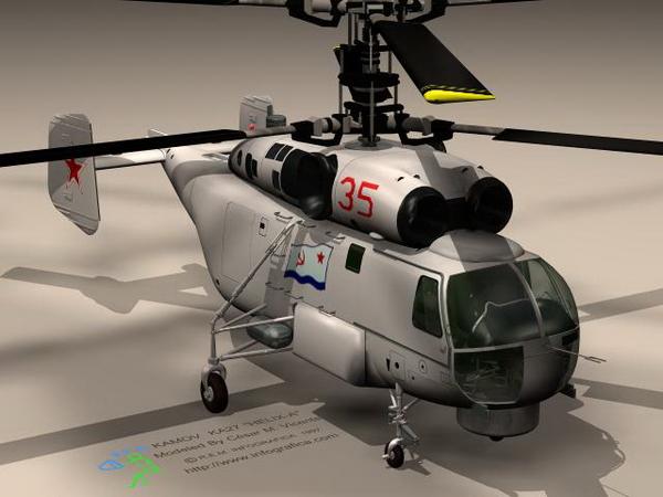 武装直升飞机3d模型下载-人物模型,游戏模型, 动物