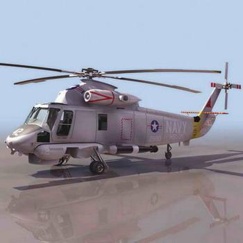 直升飞机-人物模型,游戏模型