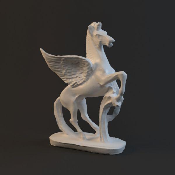 飞马雕塑-人物模型,游戏模型, 动物插件, 模型下载尽