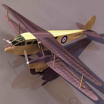 飞机 模型 350_350