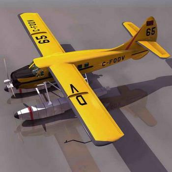 飞机-人物模型,游戏模型, 动物插件, 模型下载尽在