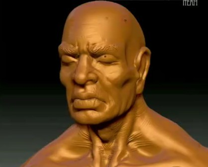 高级zbrush人物雕刻教程
