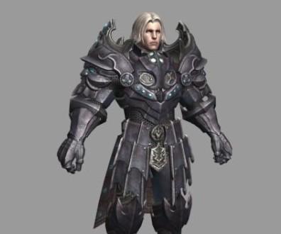 次时代盔甲勇士-人物模型