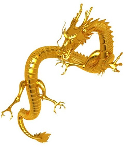 中国龙-人物模型,游戏模型