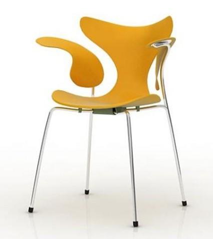手绘线条一把椅子