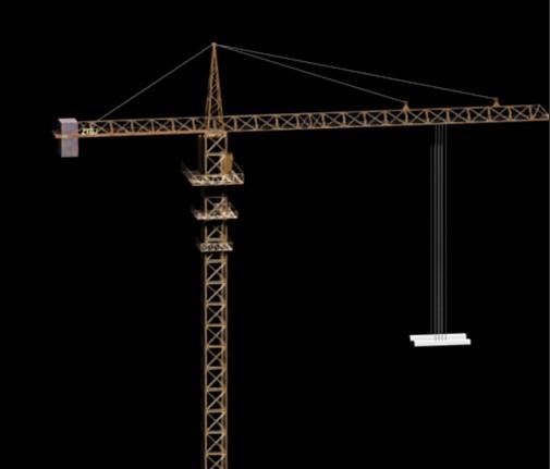 塔吊3d模型 - 下载页面