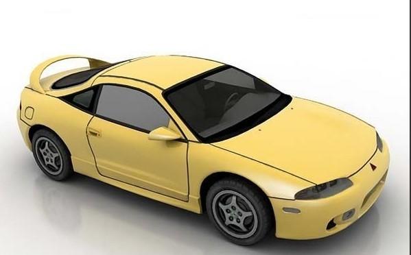 小轿车3D模型 下载页面 直线网 最专业的数字艺术学习交流平台图片