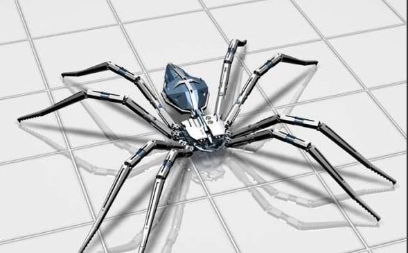 机器蜘蛛2-人物模型,游戏模型