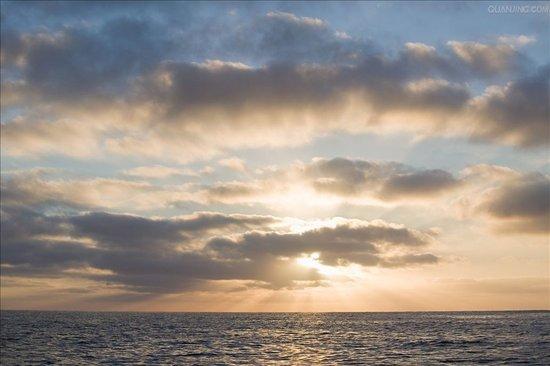 简笔海洋风景画