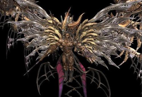最终幻想-人物模型,游戏模型