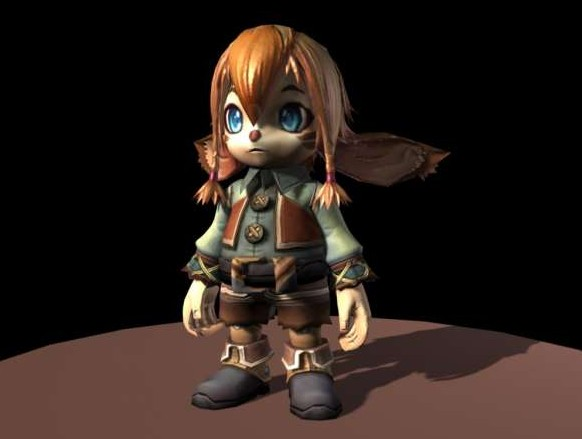 松鼠-人物模型,游戏模型, 动物插件, 模型下载尽在