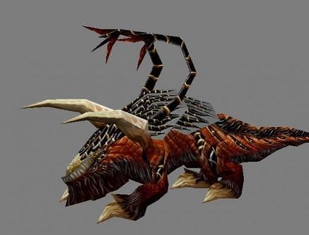 地狱犬-人物模型,游戏模型