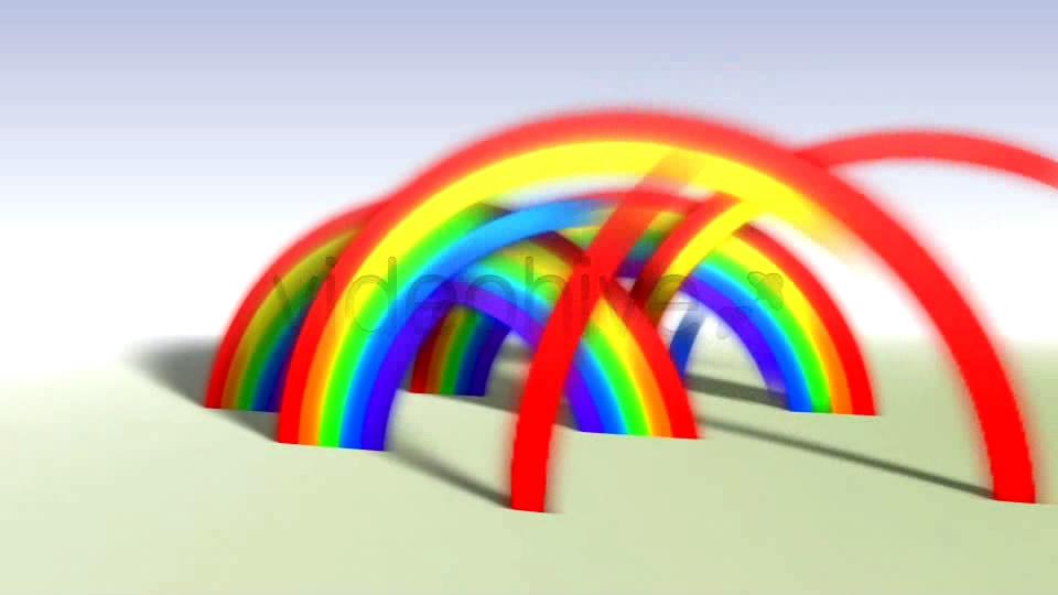 [ae模板] 彩虹图片