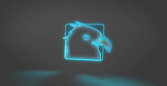 [ae模板] 优雅闪烁灯光旋转弹出电影霓虹灯企业logo标志模板