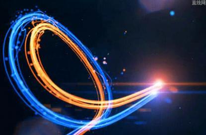 划屏线条光线寡人粒子素材展示于国也视频教学设计之图片