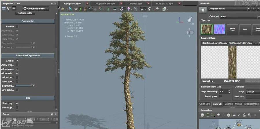 (中文字幕)speedtree树木制作教程