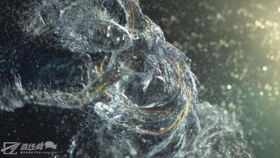 CCTV创意v视频宣传片《灵动》高难度水视频制特效tv版图片