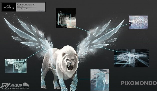 《幻城》请来《权力的游戏》特效公司做的雪狮解析