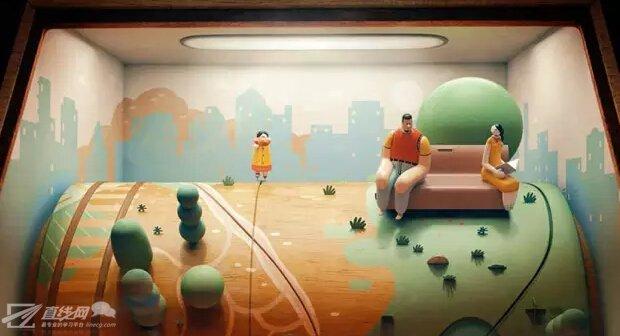 木偶世界的机械生活,来自乐队Jane Bordeaux的《Ma'agalim》动画MV