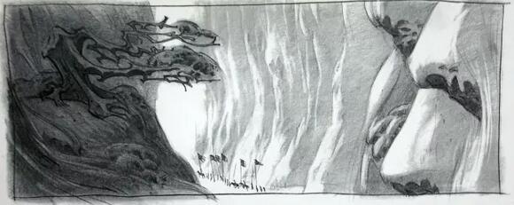 超棒!迪斯尼动画电影《花木兰》场景概念草图设计