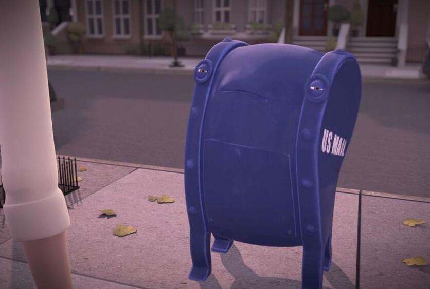 小伙子把分手信扔进了垃圾桶