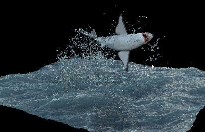 课程内容:主要学习在flip粒子制作海豚跃水效果