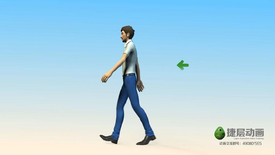 跳的动画步骤图