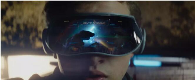 影片中男主角佩戴的vr眼镜图片