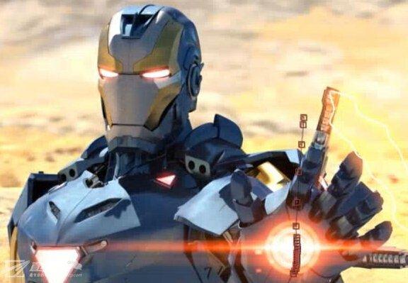 《c4d与ae制作钢铁侠动画全流程 建模 动画 渲染 后期 视频教程 》