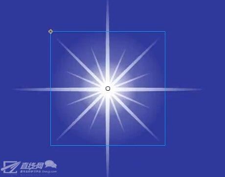 flash星星的画法